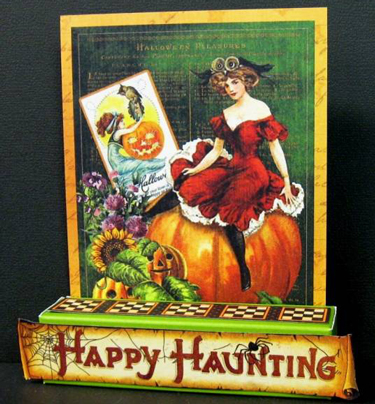 Happy Haunting 375x404 HALLOWEEN TREAT HOLDERS ....PLUS