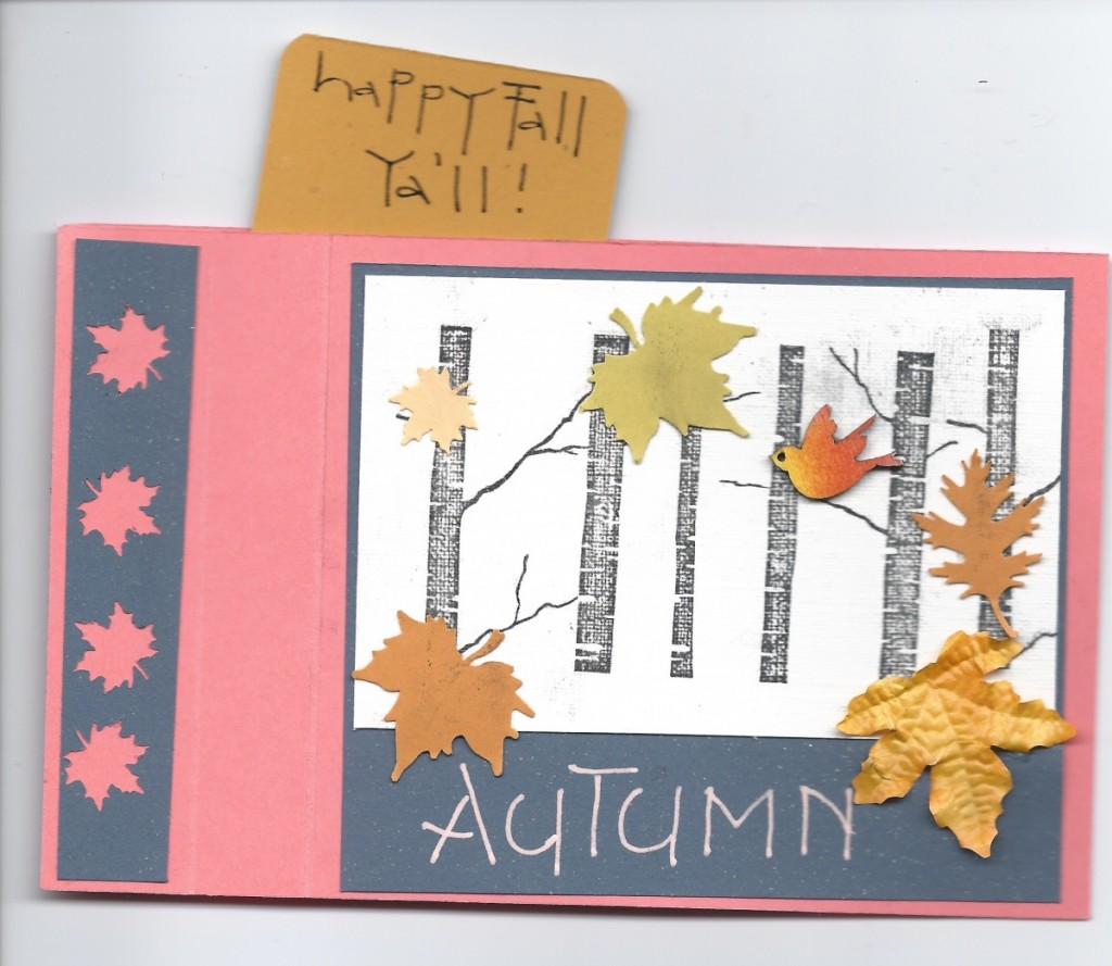 Kath's wiper card for Autumn