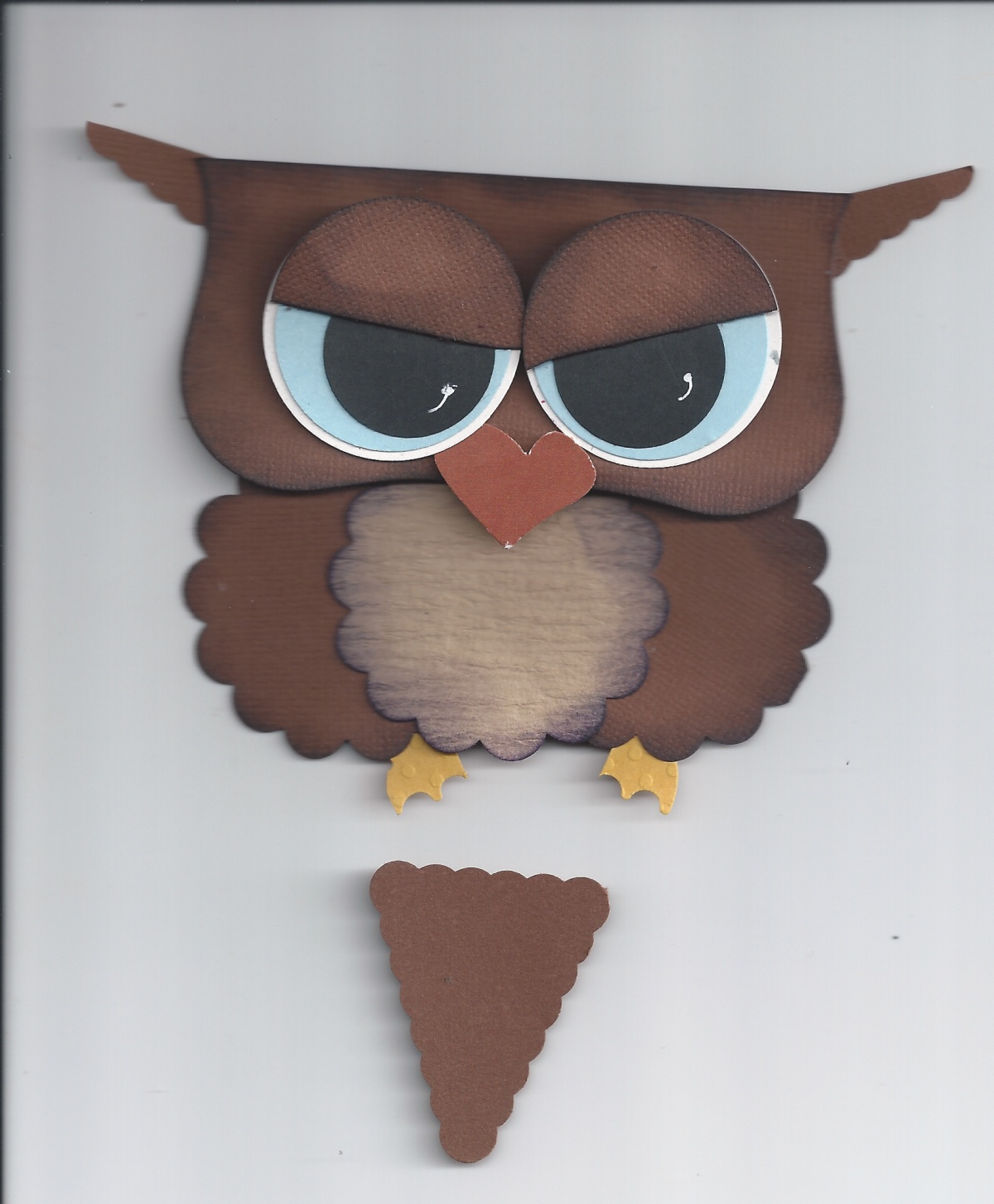 my owl with the pennant ears