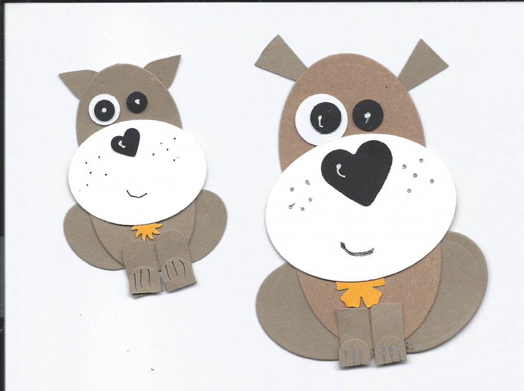 MY DIE CUT DOGS