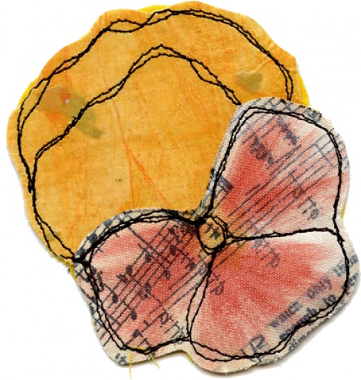 paper fabric flower