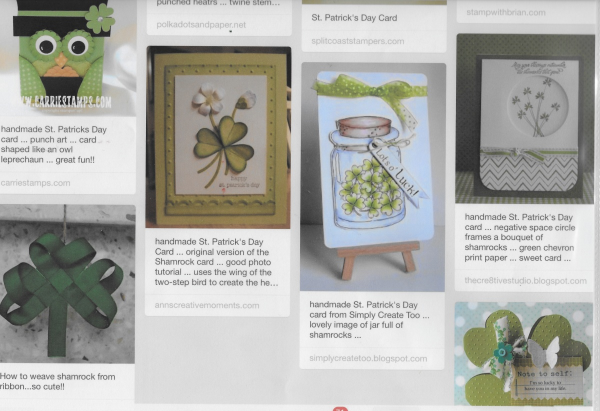 st pats pinterest cards