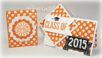 Dawn's twist turn grad card.