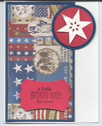4th july birthday latch card