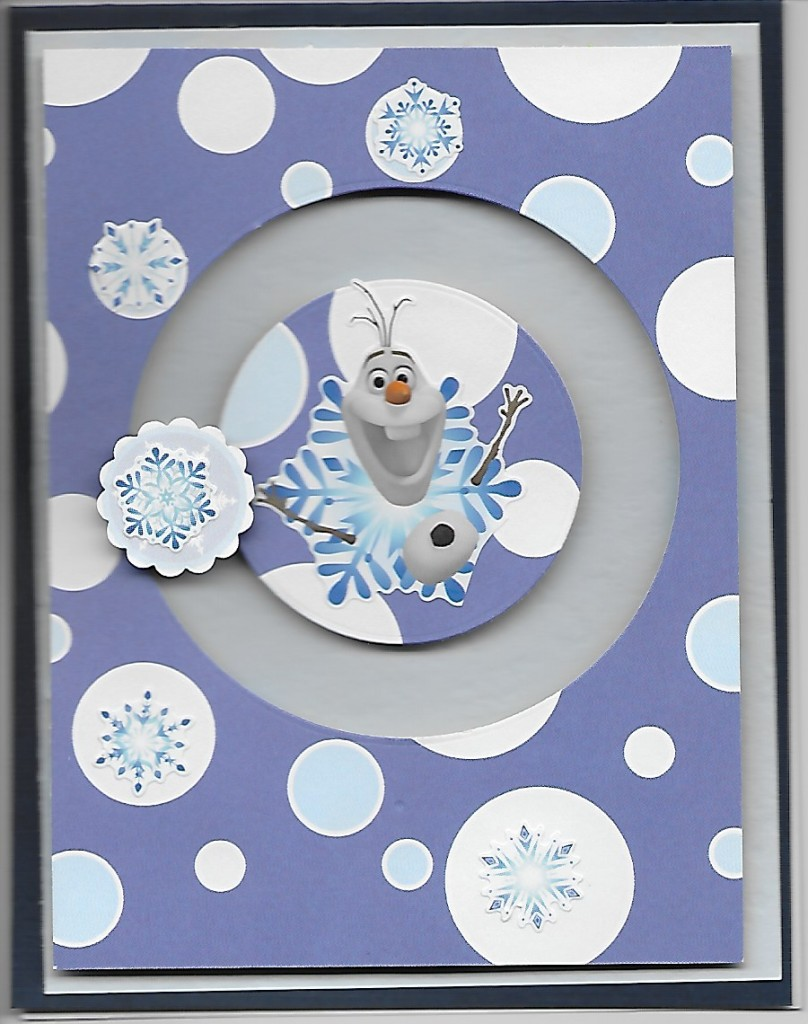 KH spinner with snowflake and Frozen